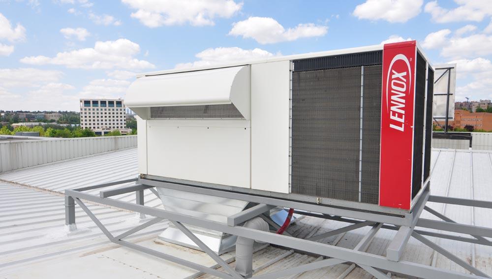 Unidad de climatización tipo Rooftop con Freecooling